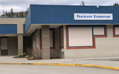 Peachland trustee talks about today's Back to School announcement