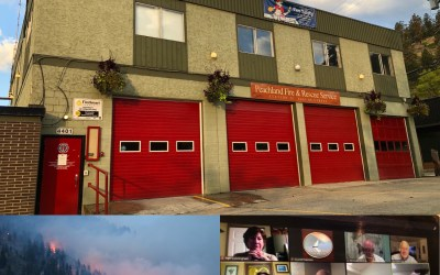 """""""We should thank them"""": Councillor says Peachland firefighters deserve kudos for their work on Mount Law"""
