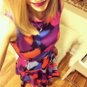 gilt dress