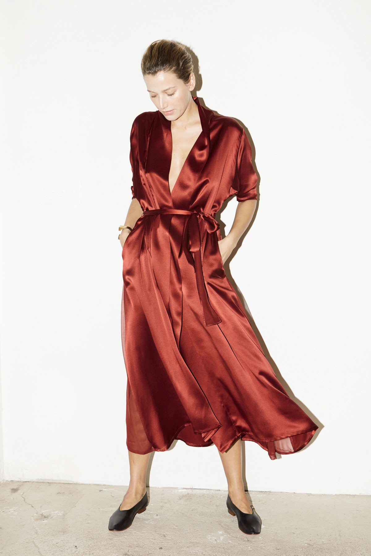 red-silk-dress
