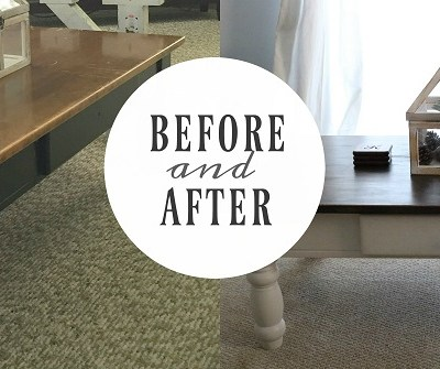 Before & After || Coffee Table