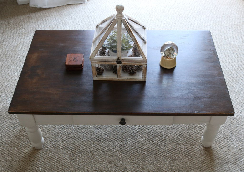 Before & After Coffee Table