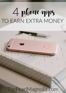 4 phone apps to earn extra money