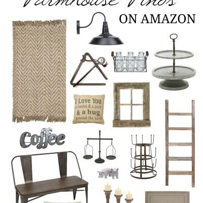 Best Farmhouse Home Decor Finds on Amazon