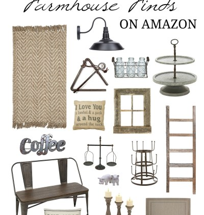 Best Farmhouse Home Decor Finds on Amazon