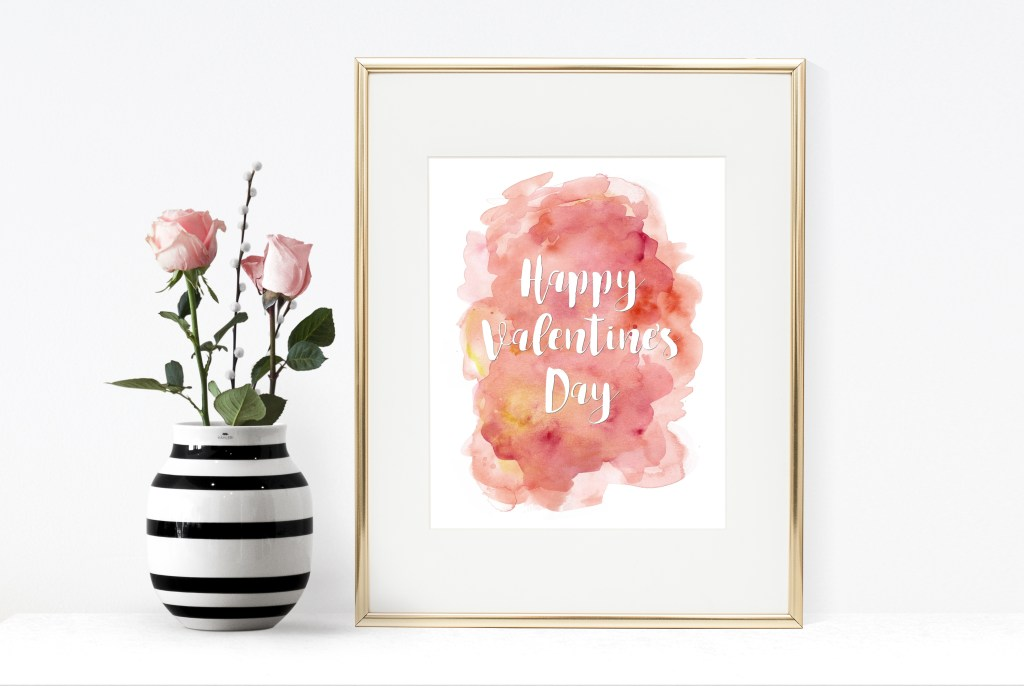 Happy Valentines Day Free Printable