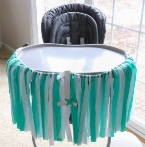 Under The Sea Party Highchair