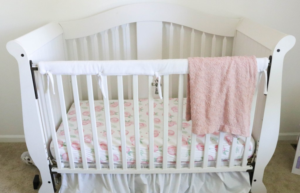 Baby Girl Nursery - Crib