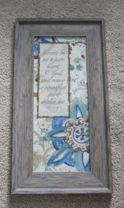 Thrift Store Frame - Kirklands
