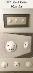DIY Sand Dollar Wall Art. Easy to make!