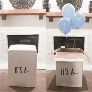 gender reveal its a boy