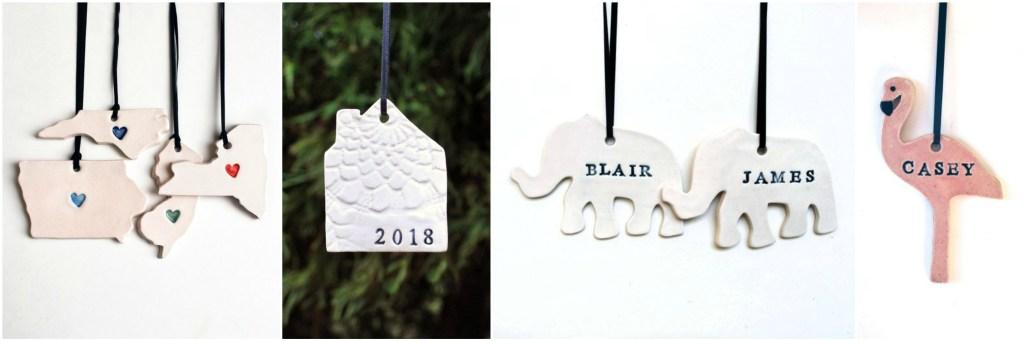 Lauren Sumner Pottery Ornaments