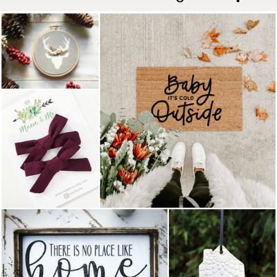 5 Favorite Etsy Shops!