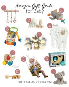 Amazon Gift Guide for Baby