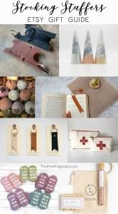 Etsy Stocking Stuffer Gift Guide