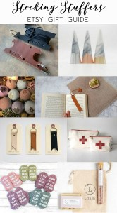 Stocking Stuffers Etsy Gift Guide