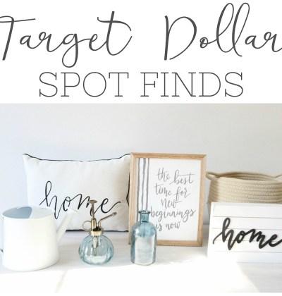 Target's Dollar Spot Finds
