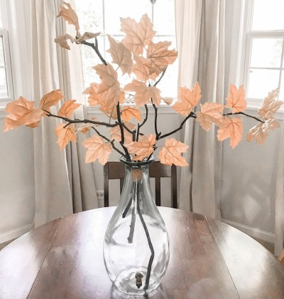 DIY Fall Leaves Decor