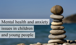 mental health issues in young people