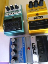 The Pedal File DOD pedals