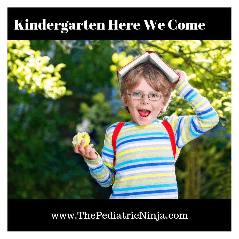 Kindergarten Here We Come!