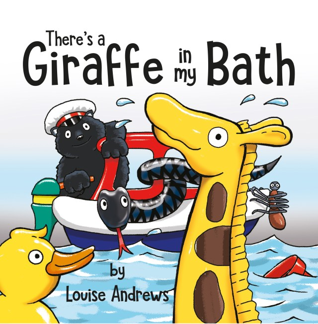 Review: There's a Giraffe in my Bath by Louise Andrews