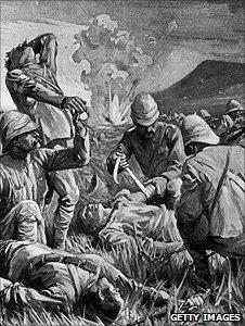IrishregimentsfoughtintheBritisharmyattheBattleofColensoin1899
