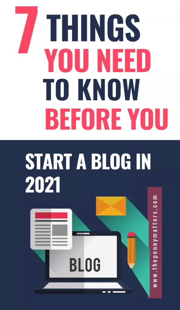 7 Things You Need to Know Before You Start a Blog