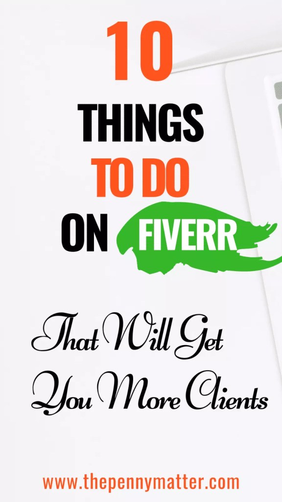 10 Helpful Fiverr Tips to Make Money Online