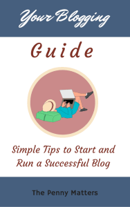 Download Your Blogging Guide for free by The Penny Matters