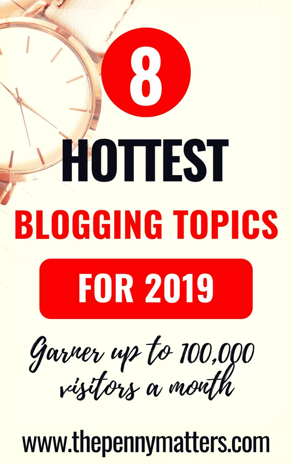 8 of the Hottest Blogging Topics to Blog About ~ Penny Matters