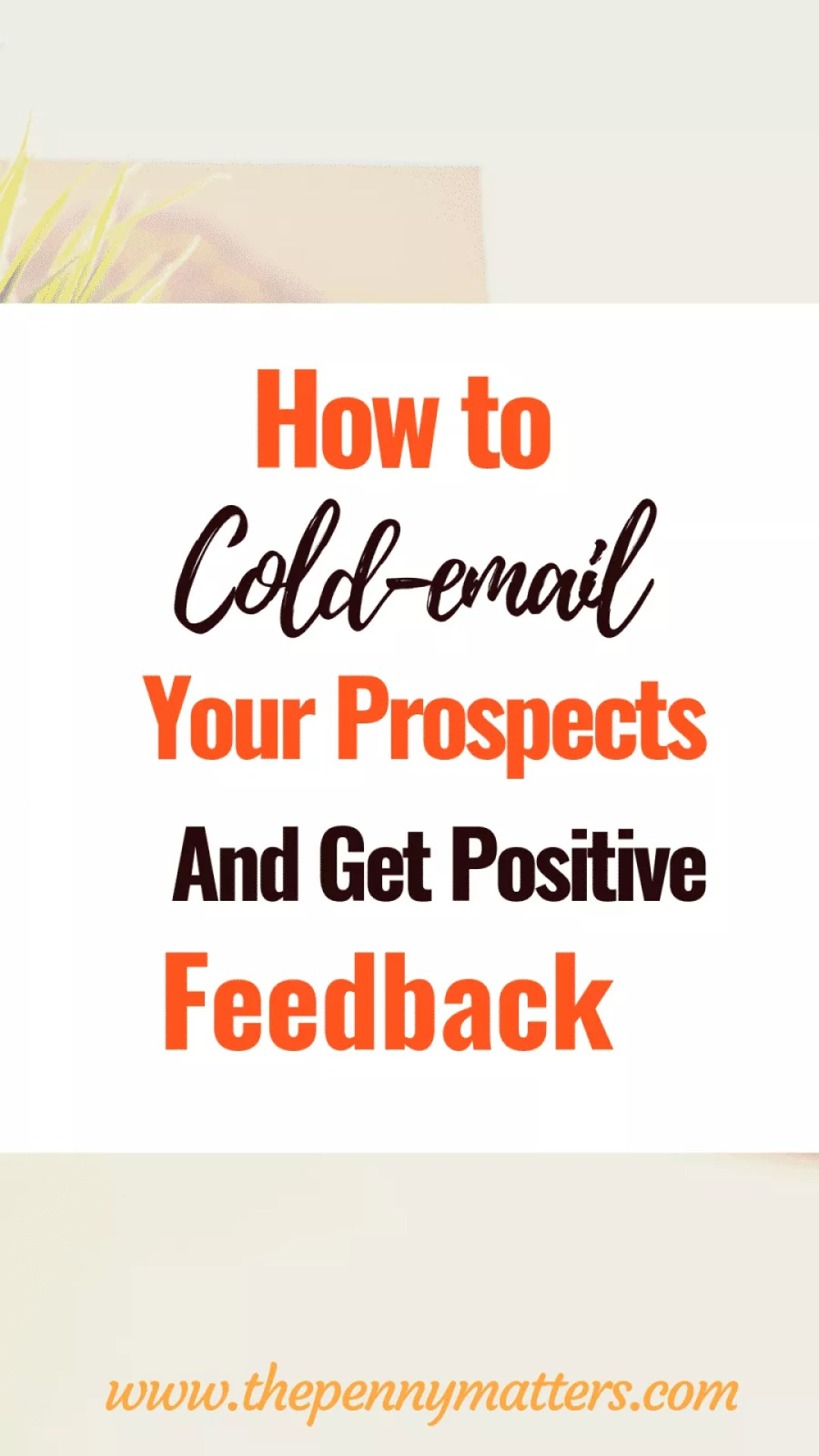 Cold emailing can be pretty intimidating at first. However, with the right cold emailing tips at your disposal, it shouldn't. This massive Pitching guide for freelancers will start you off the fence
