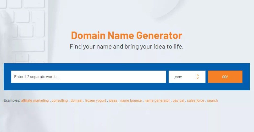 Namebounce business name generators