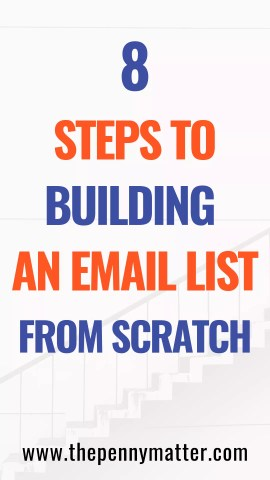 How to build an email list from scratch in 2019