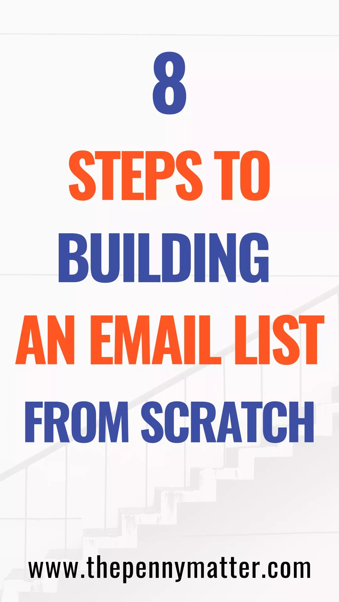 How to build an email list from scratch in 2021