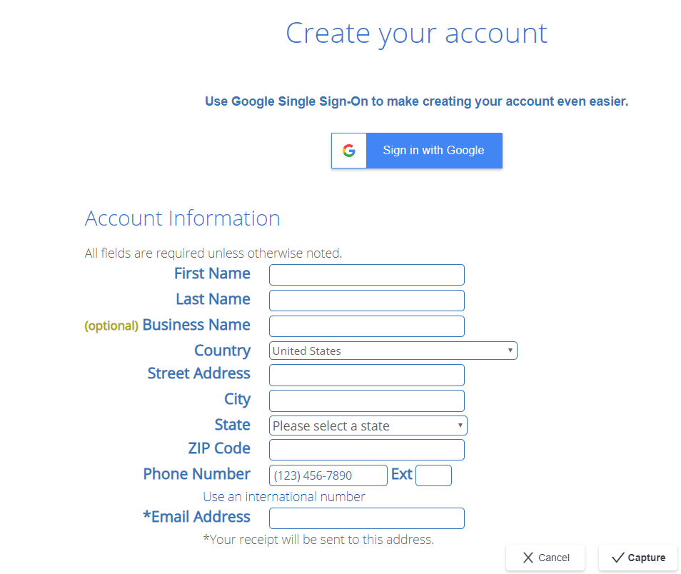 how to start a money making blog Bluehost Create Your Account