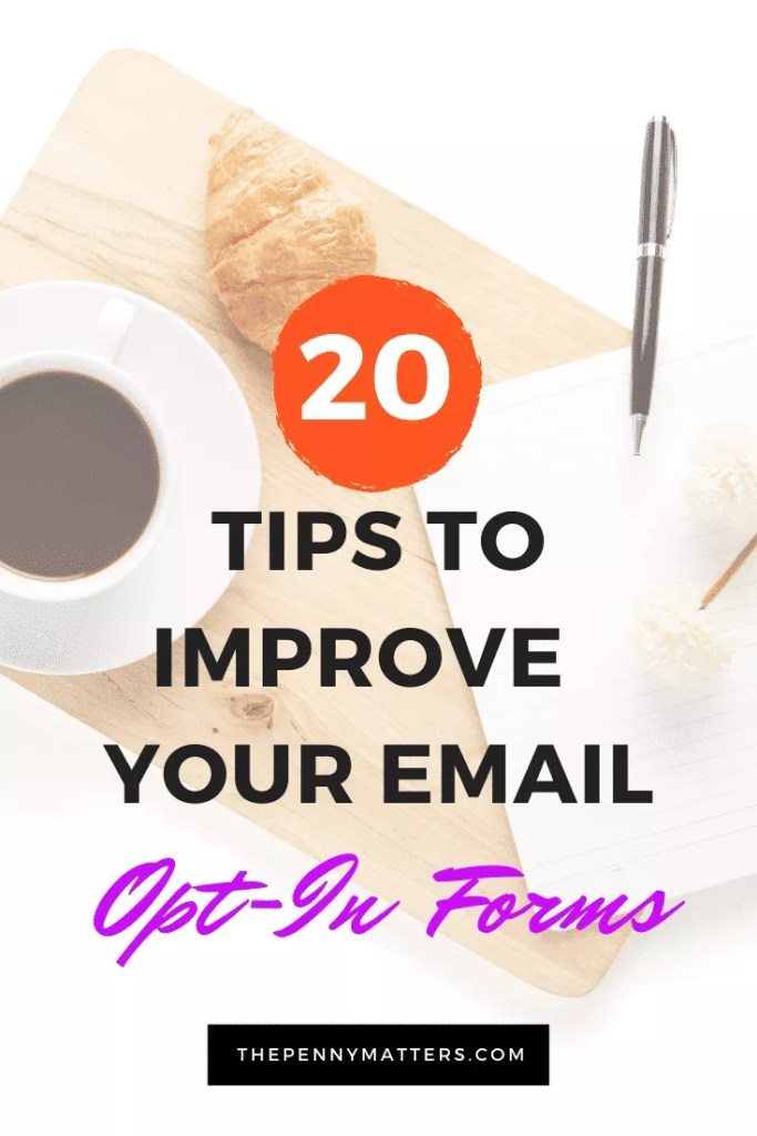 Email Sign Up Forms Best Practices