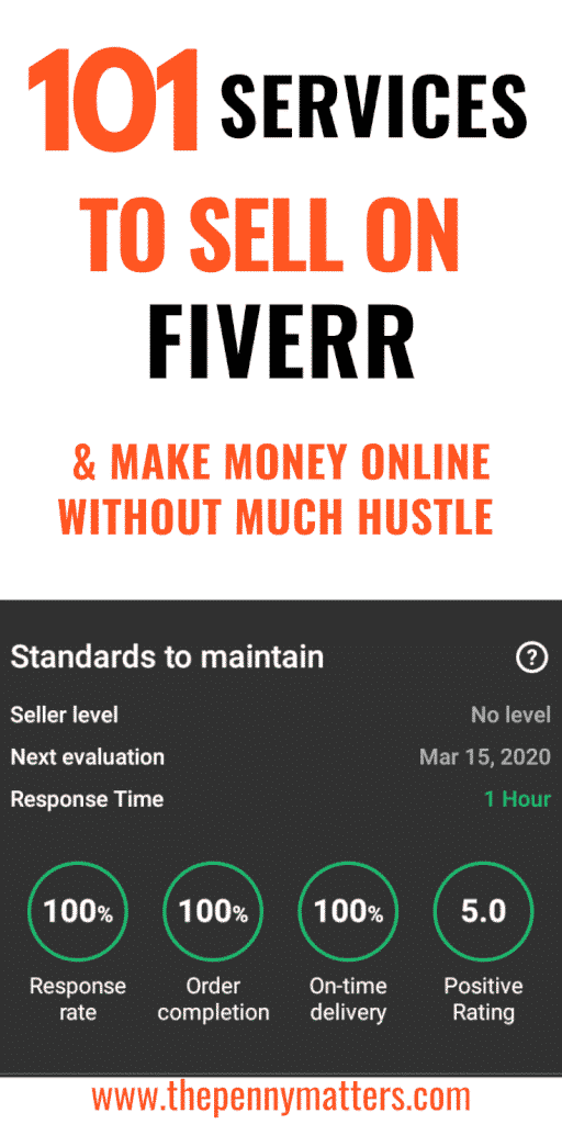 101 Services to Sell on Fiverr and make Money Online 2