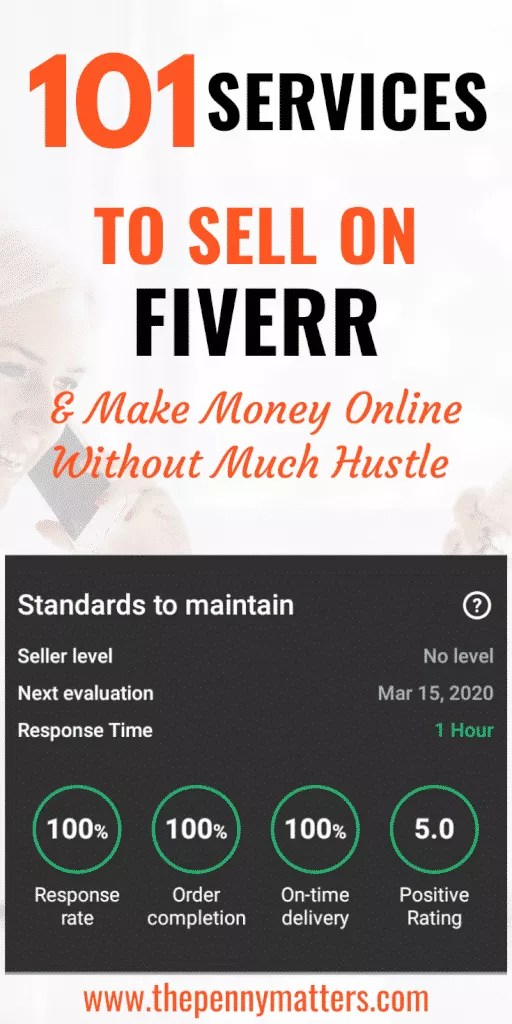 101 Services to Sell on Fiverr and make Money Online 5