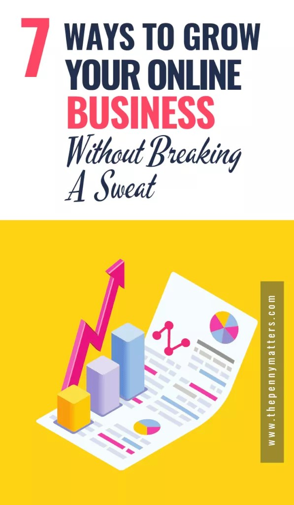 How to grow your online business really fast without breaking a sweat