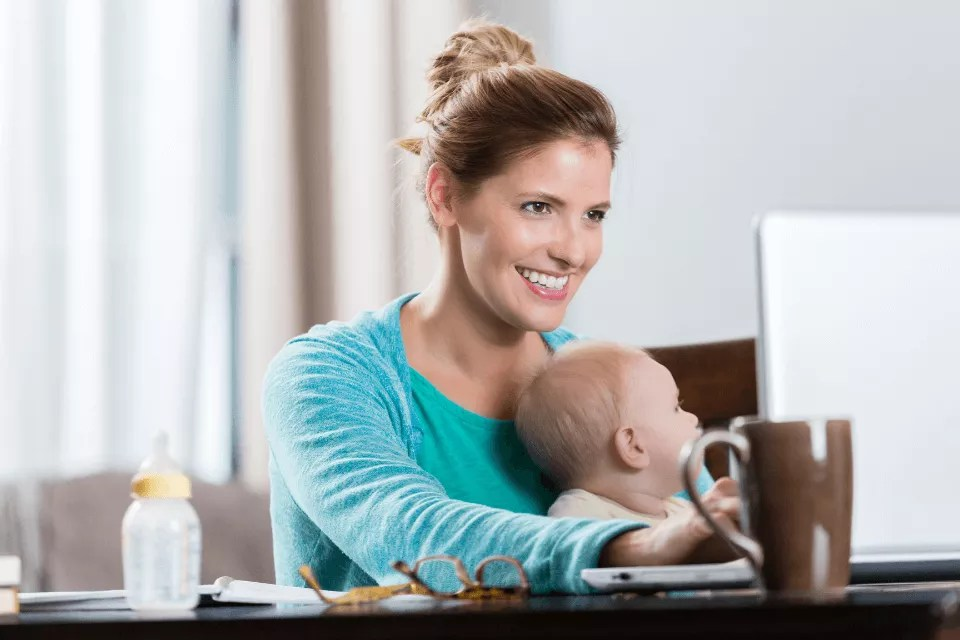 9 Work From Home Ideas for Moms