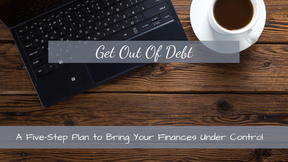A Five-Step Plan to Become Debt-Free