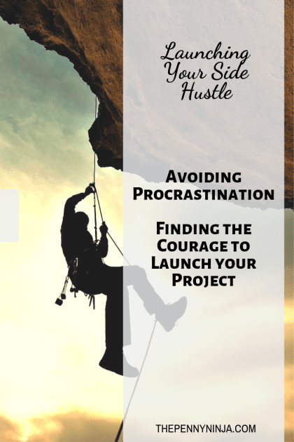 Finding the courage to launch your side hustle.