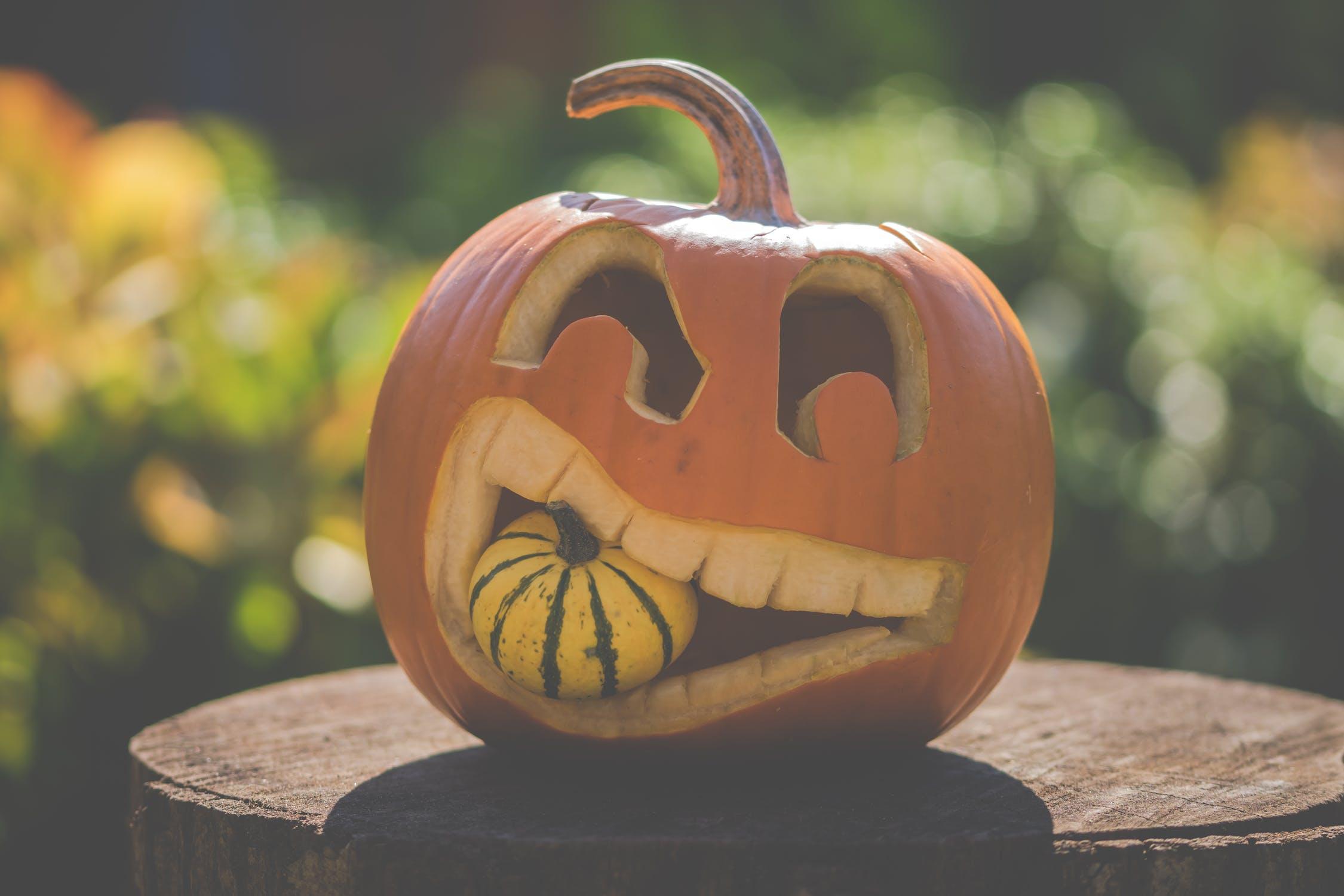 Free Halloween Pumpkin Carving Stencils