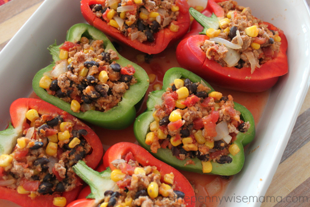stuffed peppers with kraft fresh take