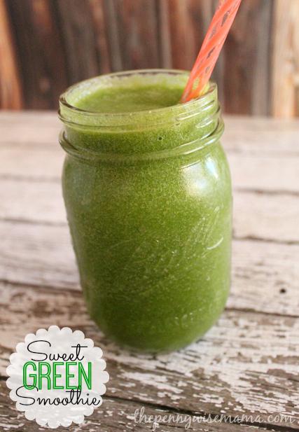 Kale & Apple Green Energy Smoothie