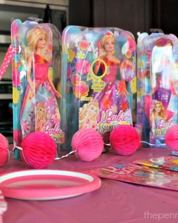 Barbie and the Secret Door Party Setup