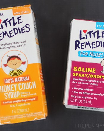 Little Remedies Natural Cold & Flu Products for Kjds