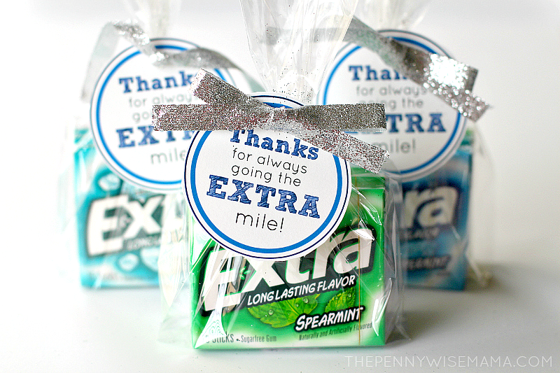image about Thanks for Going the Extra Mile Printable named Very simple Do-it-yourself Instructor Appreciation Reward: No. 2 Pencil Vase with