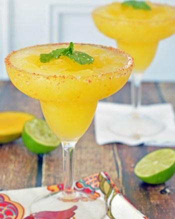 The Best Mango Margarita